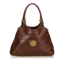 Gucci Leather Reins Hobo