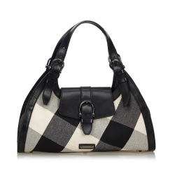 Burberry Supernova Canvas Shoulder Bag