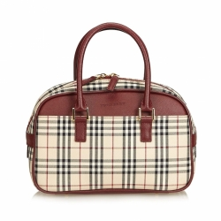 Burberry Nova Check Jacquard Travel Bag