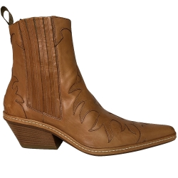 Sartore Flame boots in natural leather