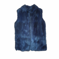 Max Mara Sleeveless vest'S Max Mara in fox fur
