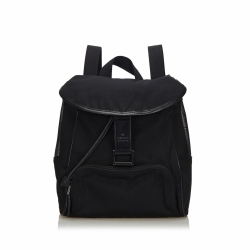 Gucci Canvas Mesh Backpack