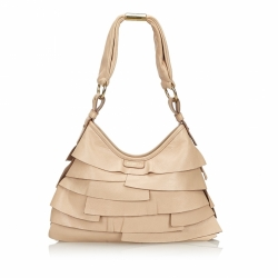 Yves Saint Laurent Leather Saint Tropez Shoulder Bag
