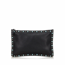 Valentino Rockstud Clutch Bag