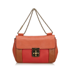 Chloé Tricolor Leather Elsie Shoulder Bag