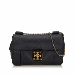 Chloé Leather Elsie Shoulder Bag