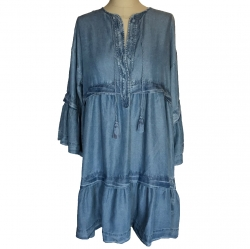 Repeat Denim dress