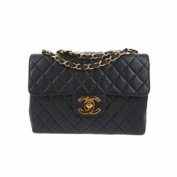 Chanel Timeless dark blue Jumbo bag