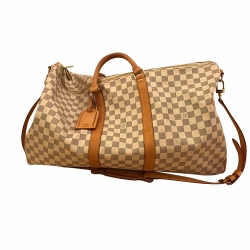 Louis Vuitton Keepall Azure Damier