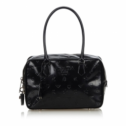 Prada Embossed Leather Handbag