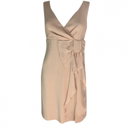 Red Valentino Pale pink knot dress