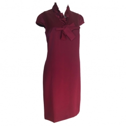 Valentino Silk dress Bordeaux