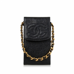 Chanel Caviar Cigarette Case