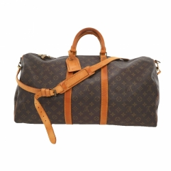 Louis Vuitton Keepall 55 Monogram Bandoulière bag