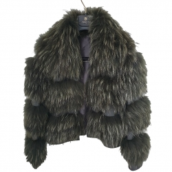 Stefanel Fur Coat