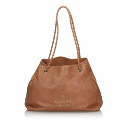 Gucci Leather Gifford Tote Bag