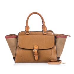 Burberry House Check Harcourt Satchel