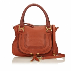 Chloé Leather Marcie Satchel