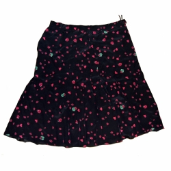 Moschino Ladybird pleated skirt