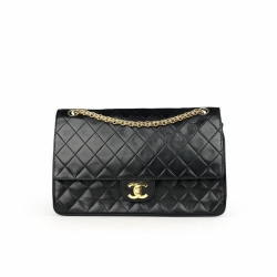 Chanel Vintage Quilted Medium Double Flap Bag