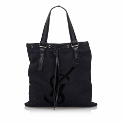 Yves Saint Laurent Canvas Kahala Tote Bag
