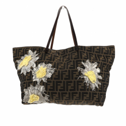 Fendi Zucca Patchwork Shoulder bag