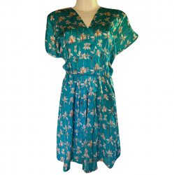 Iceberg Silk Floral Dress