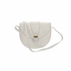 Christian Dior crossbody bag in white leather