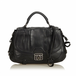 Celine Leather Satchel