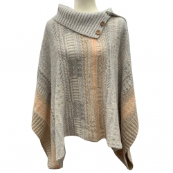 Free People Poncho Sweater