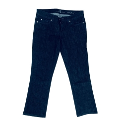 7 For All Mankind Edie Flut blau 29