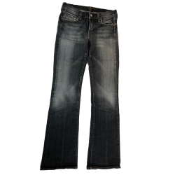 7 For All Mankind Boot Cut schwarz/grau 27