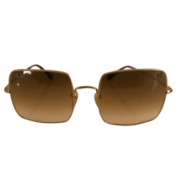 Ray-Ban Square Evolve Gold Sunglasses