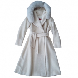 Max Mara Alpaca and wool coat