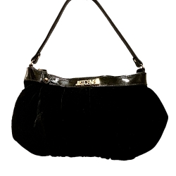 Just Cavalli Velvet evening bag