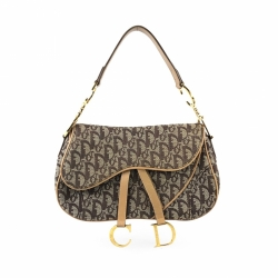 Christian Dior Diorissimo Double Saddle Bag