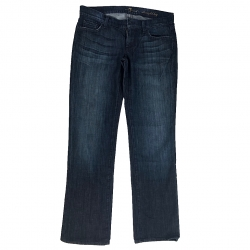 7 For All Mankind Blue Jeans Straight Leg 29