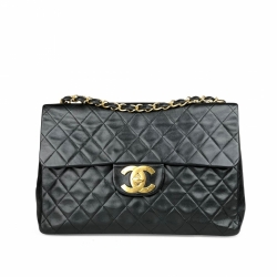Chanel Vintage Classic Maxi Single Flap Bag