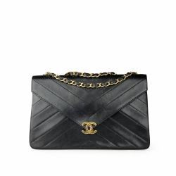 Chanel Chevron CC