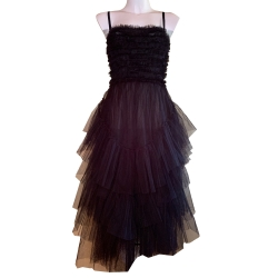 Red Valentino Flounced tulle dress