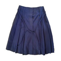 Loro Piana Violet Skirt with buttons
