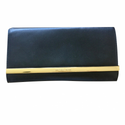 Michael Kors Lana Leather Clutch Bag