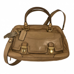 Coach Vintage leather top handle, crossbody bag