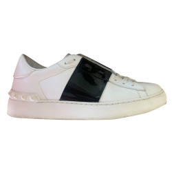 Valentino Open Learher Sneakers