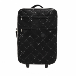 Chanel Old Line Carry On Luggage
