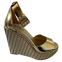 Michael Kors Metallized with Compensating Sole