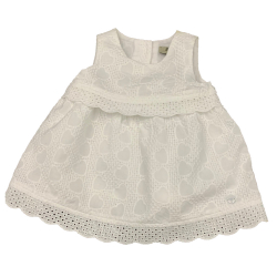 Armani Junior Light summer dress with embroidery