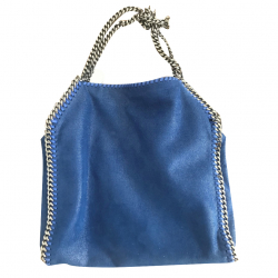 Stella McCartney Falabella Small Tote Blue