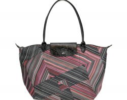 Longchamp Le Pliage' optical print nylon bag