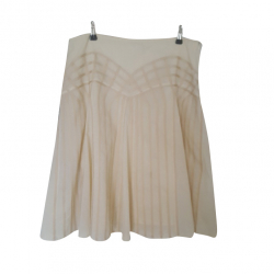 Les Petites Cotton and silk skirt